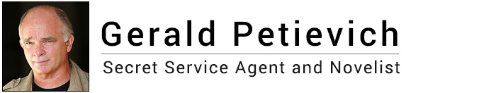 Gerald Petievich - Secret Service Agent and Novelist Logo