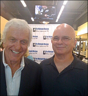 Gerald with actor Dick Vandyke at a charity function - 2010